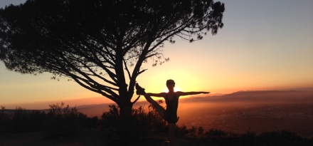 Sunset Hike At Wisdom Tree Cahuenga Peak Hollywood Sign